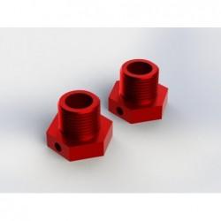 Hexágonos de rueda de aluminio 17mm (AR330359) 2 uds.
