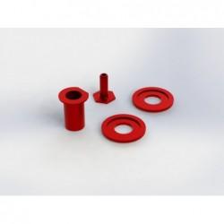 Piezas metálicas de salvaservo ARRMA (AR340094)