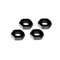 Tuercas de rueda de aluminio 17mm ARRMA negro (AR310449) 4 uds.