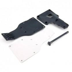 Placa inferior ARRMA Aluminio (AR320204)