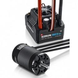 Juego de motores + controlador Hobbywing Ezrun Max10 SCT 3660SL 3200kv