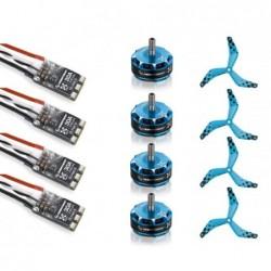 Combo Hobbywing 2405 2550kv BLHeli 30A 2-4S - Drone