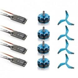 Combo Hobbywing 2405 1800kv BLHeli 35A 3-6S - Drone