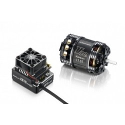 Combo Hobbywing XR10 PRO Negro + XERUN V10 3.5T G3