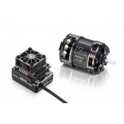 Combo Hobbywing XR10 PRO Negro + XERUN V10 5.5T G3