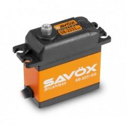 Servo Savox SB-2231SG Brushless 84g (40kg / 0.10s)