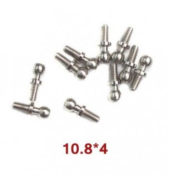 Tornillos WLtoys de 10.8x4 mm (A949-46) 10 uds.