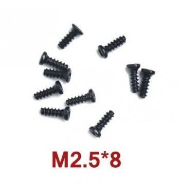 Tornillos de 2.5x8 mm WLtoys (A949-40) 10 uds.
