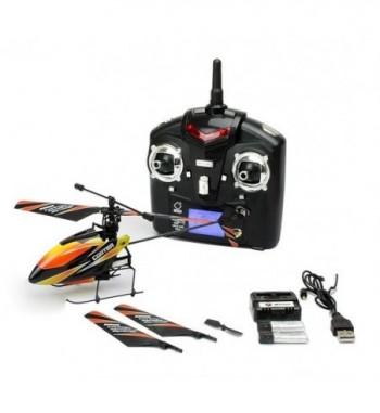 Helicoptero V911 v2 Naranja WLToys