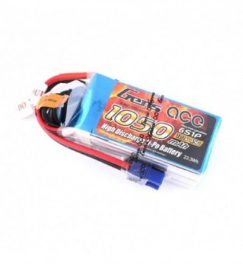 Bateria LiPo Gens Ace 1050mAh 22.2v 45C 6S1P