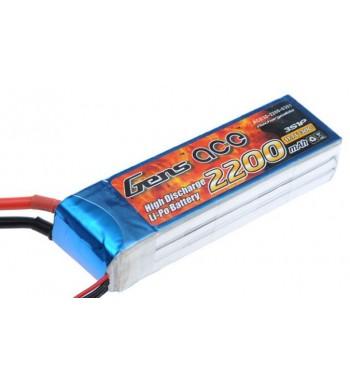 Bateria LiPo Gens Ace 2200mAh 11.1v 30C 3S1P