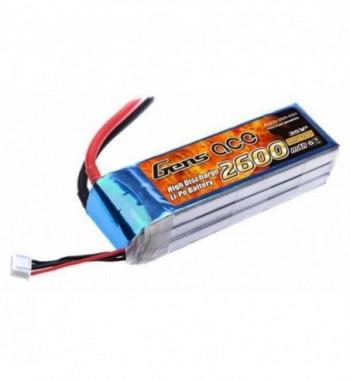 Bateria LiPo Gens Ace 2600mAh 11.1v 25C 3S1P