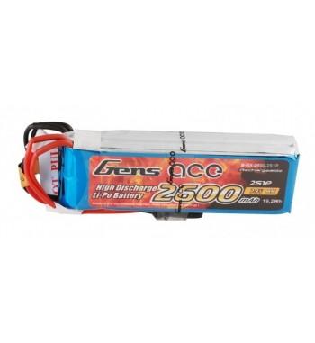 Bateria LiPo Gens Ace 2600mAh 7.4v 1C 2S1P