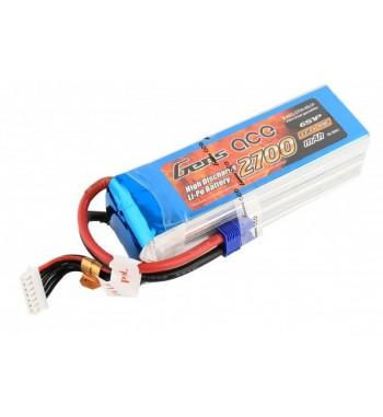 Bateria LiPo Gens Ace 2700mAh 22.2v 45C 6S1P
