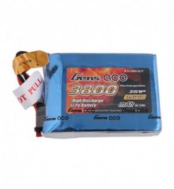 Bateria LiPo Gens Ace 3800mAh 7.4v 1C 2S1P