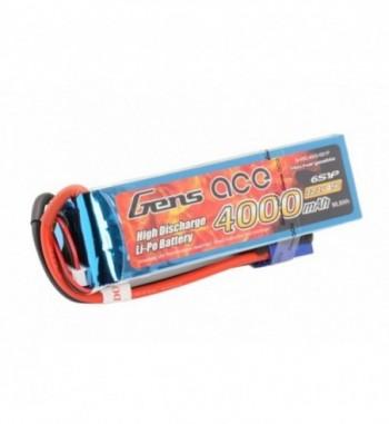 Bateria LiPo Gens Ace 4000mAh 22.2v 45C 6S1P