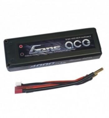 Bateria LiPo Gens Ace 4000mAh 7.4v 30C 2S1P Hardcase