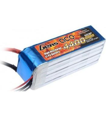 Bateria LiPo Gens Ace 4400mAh 22.2v 35C 6S1P