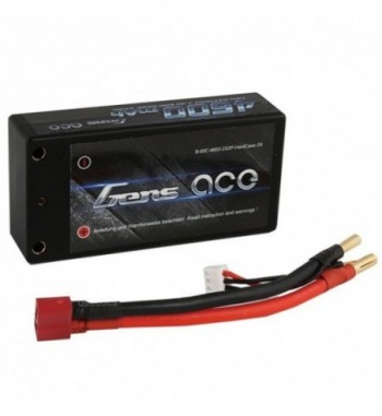 Bateria LiPo Gens Ace 4600mAh 7.4v 60C 2S2P Hardcase