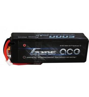 Bateria LiPo Gens Ace 5000mAh 11.1v 50C 3S1P Hardcase