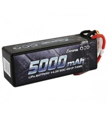 Bateria LiPo Gens Ace 5000mAh 14.8v 50C 4S1P Hardcase