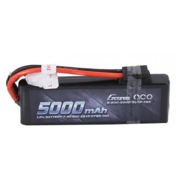 Bateria LiPo Gens Ace 5000mAh 7.4v 50C 2S1P TRX Hardcase