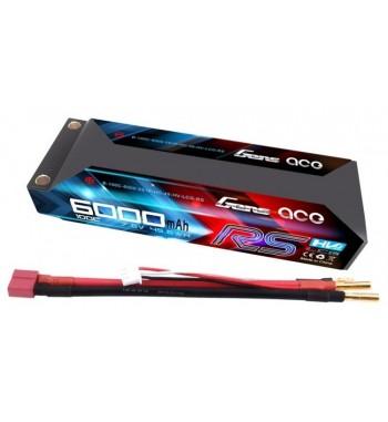 Bateria LiPo Gens Ace 6000mAh 7.6v 100C 2S1P