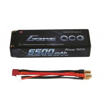 Bateria LiPo Gens Ace 6500mAh 7.4v 50C 2S1P Hardcase