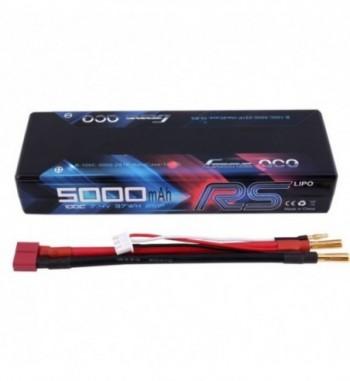Bateria LiPo LiPo Gens Ace 5000mAh 7.4v 100C Hardcase RS