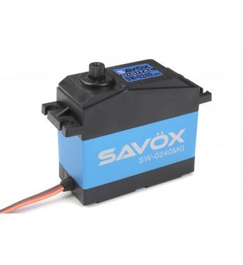 Maxi Servo Savox SW-0240MG 200g (35kg / 0.15s) Waterproof