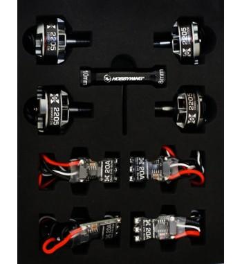 Combo Hobbywing XRotor 2205 2300 kV + 30A Micro BLHeli