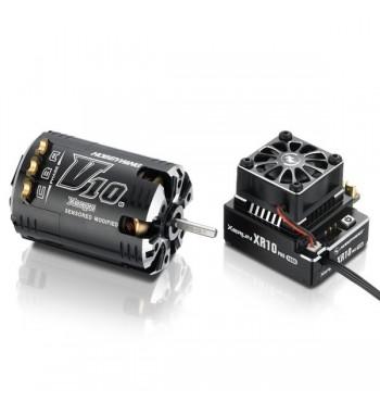 Combo Hobbywing XERUN XR10 Pro + Motor G2 V10 6.5T