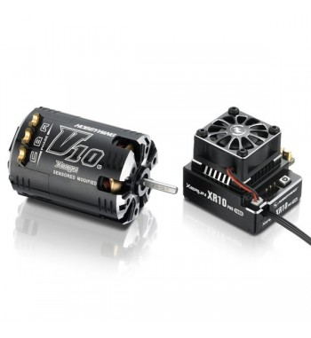 Combo Hobbywing XERUN XR10 Pro + Motor G2 V10 7.5T