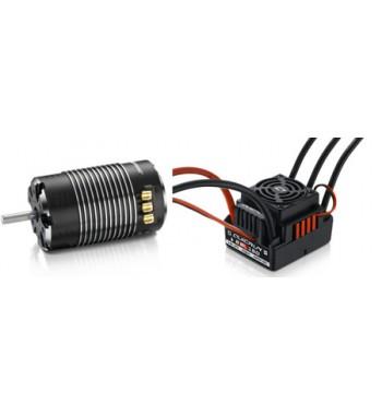 Combo Hobbywing QuicRun WP 8BL150 + XeRun SD 4268 de 1900 kV G2