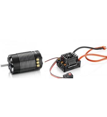 Combo Hobbywing EzRun MAX8 150A V3 + XeRun SD 4268 2600 kV G2 + Tarjeta