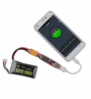Adaptador XT60 a USB 2-6S