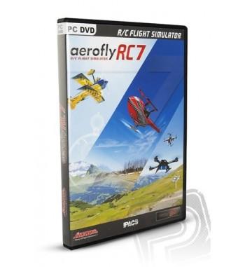 Simulador de vuelvo AEROFLYRC7 PROFESIONAL en DVD