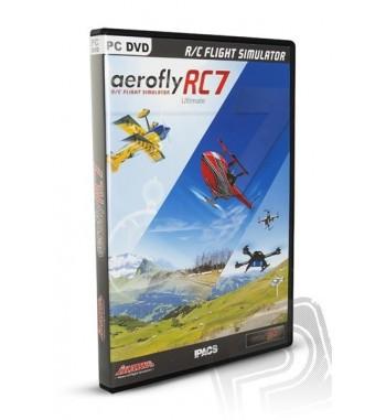 Simulador de vuelo AEROFLYRC7 ULTIMATE en DVD