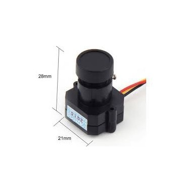 Camara mini FPV 600TVL HD 1/3 pulgadas Color CMOS PAL