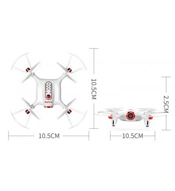 Drone Syma X20W RTF - Blanco