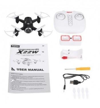Drone Syma X22W RTF - Negro