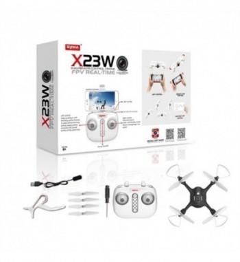 Drone Syma X23W RTF - Negro