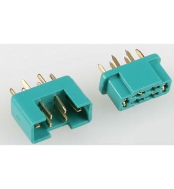 Conector de 6 clavijas 7925/5 MPX 6-PIN x1 par