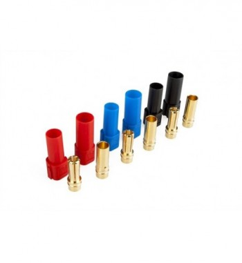 SET Conectores  XT150 6 mm x3 pares