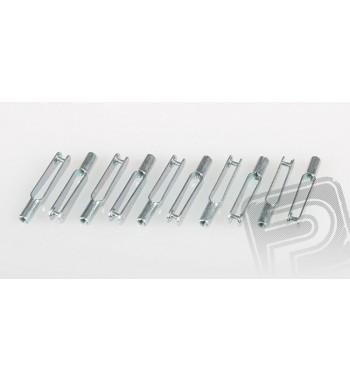 Clavijas de metal M3 x10 uds.