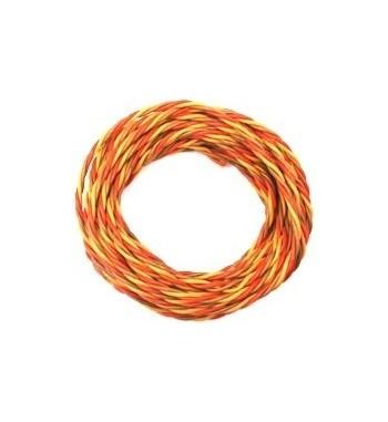 Cable de servo JR 0.5mm (8GR54068) 1m