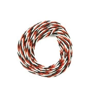 Cable de servo JR 0.5mm2 (8GR54071) 1m