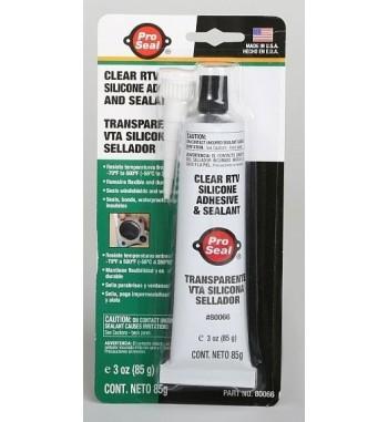 Sellador de silicona transparente Pro Seal 85.1g