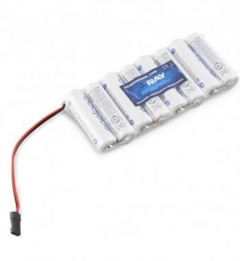 Pack bateria NiMH 9.6v 2000 mAh AA SANYO ENELOOP TX-JR