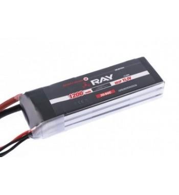 Bateria LiPo RAY 1200 mAh 11.1v 30/60C Air Pack